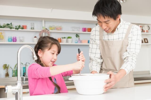 パパと料理