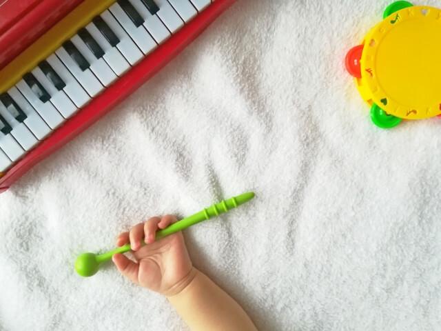 子どもと楽器