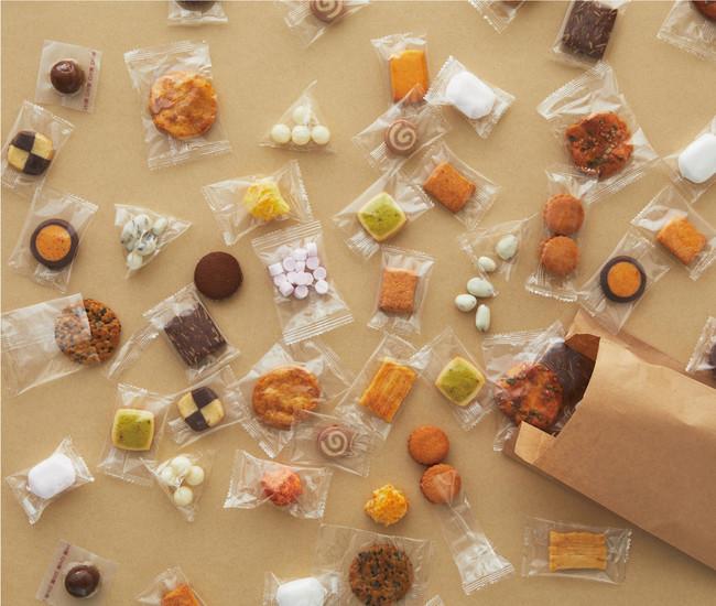 無印良品でお菓子の量り売りスタート